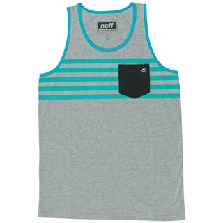 Neff Daily Pocket Tank Top - Athletic Heather
