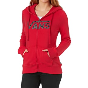 Vans Womens Authentic Zip Hoodie - Lollipop