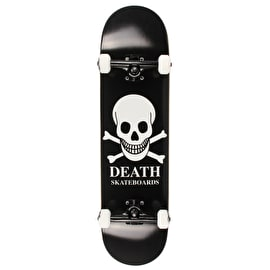 Death OG Skull Custom Skateboard - Black