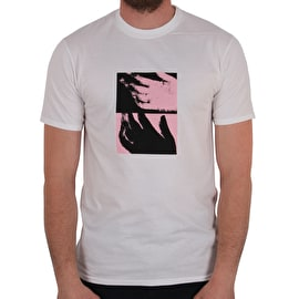 National Skateboard Co Hand T shirt - White