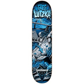 Darkstar Skateboard Deck - Crash R7 Lutzka 8.125