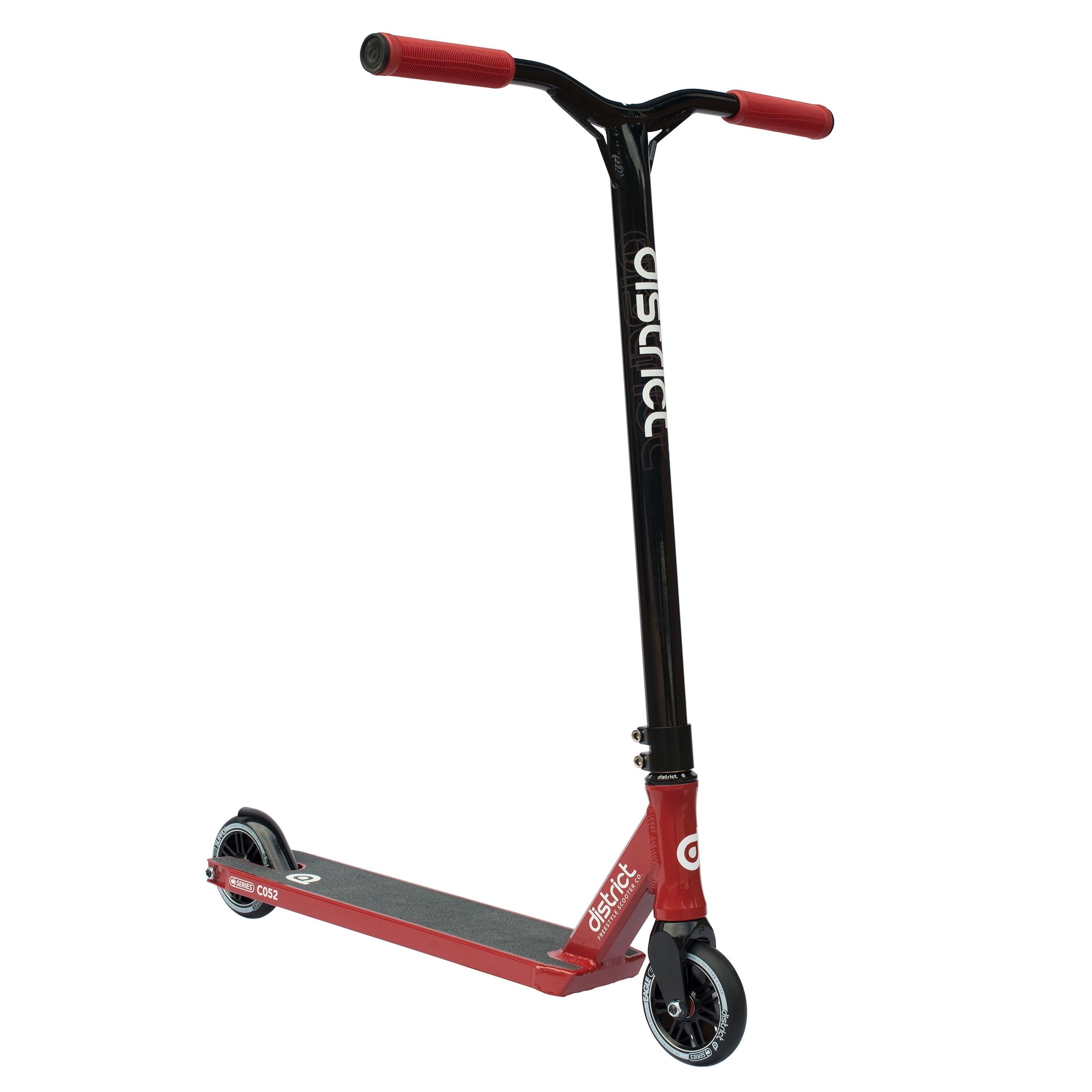 Image of District 2017 C-Series C052 Complete Scooter - Red/Black