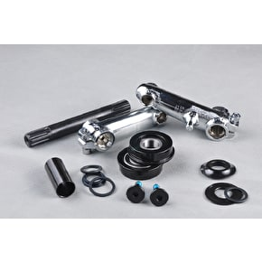 Rocker 48 Spline Cranks and Pedals - Chrome