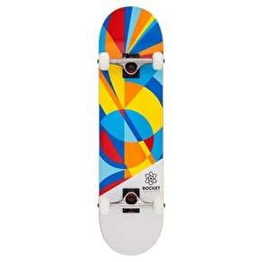 Rocket Eclipse Series Complete Skateboard - Blue/Red 8