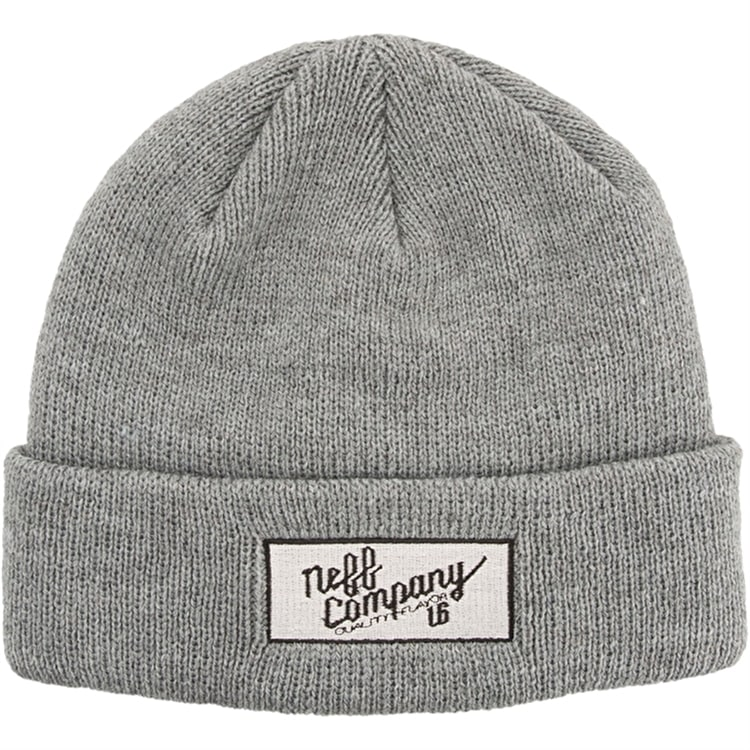 Neff Co Beanie - Grey