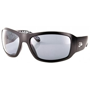 Carve Checkmate Sunglasses - Matt Black/Polarised/Signature