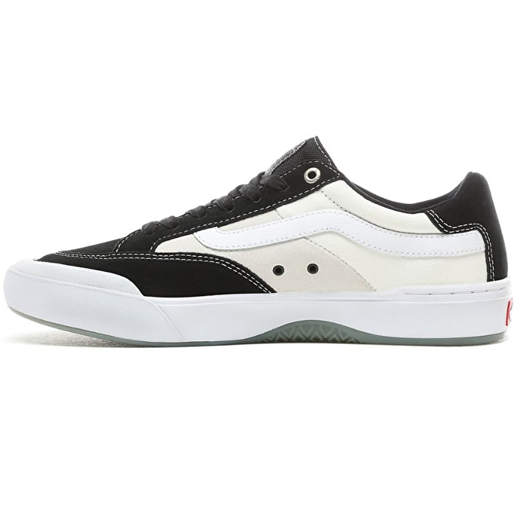 Vans Berle Pro Skate Shoes - Black/White