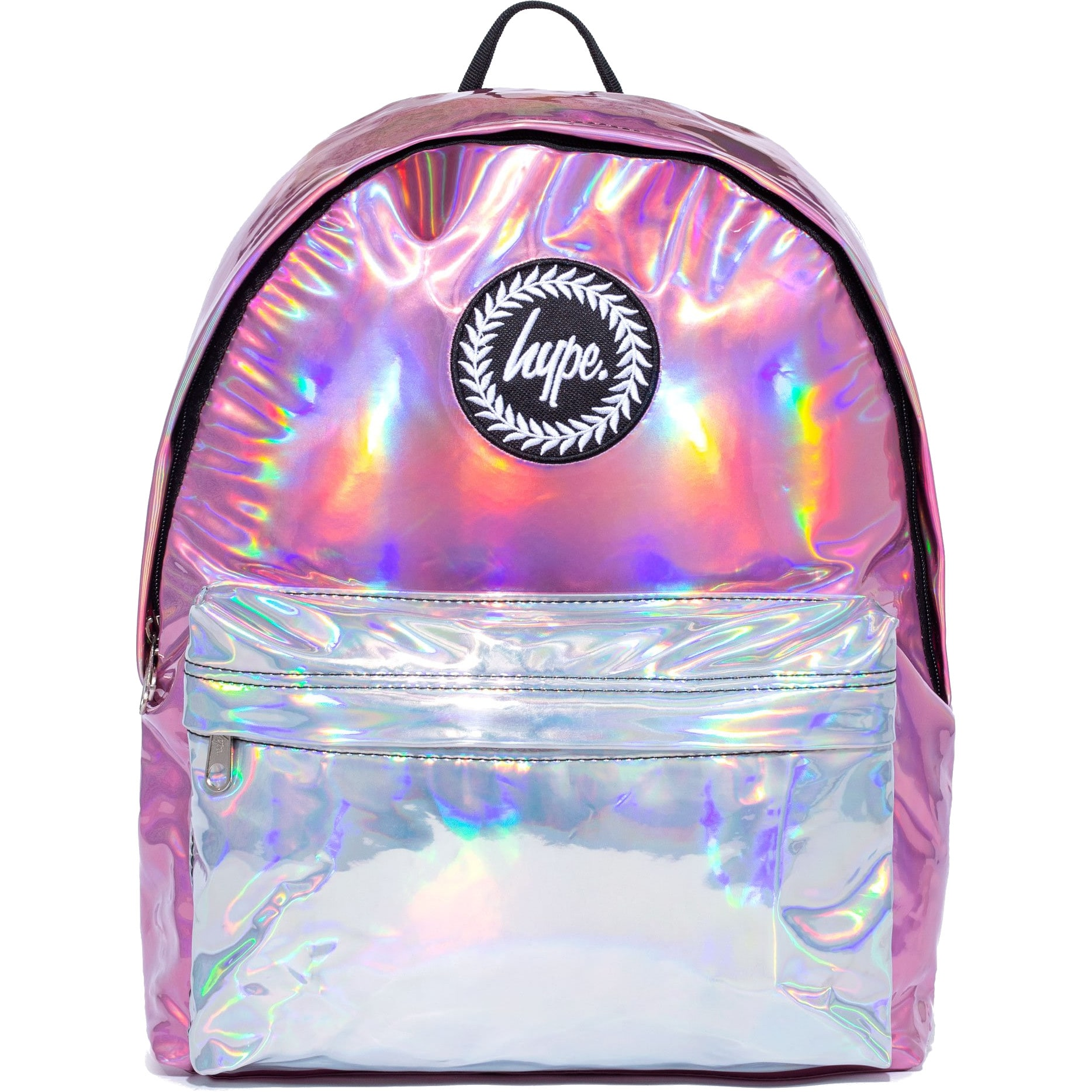2df846302674 Hype Holographic Mix Backpack - Pink Silver 5057896042367