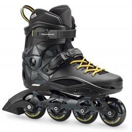 Rollerblade RB 80 Roller Blades - Black/Yellow