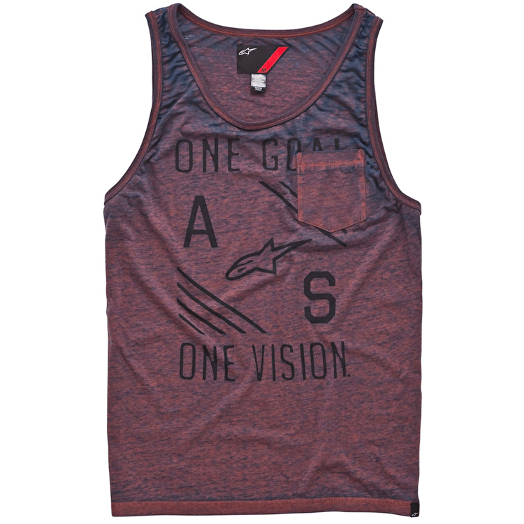 Alpinestars Burn Out Tank Top - Orange