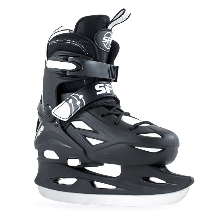 SFR Ice Skates - Eclipse Black/White
