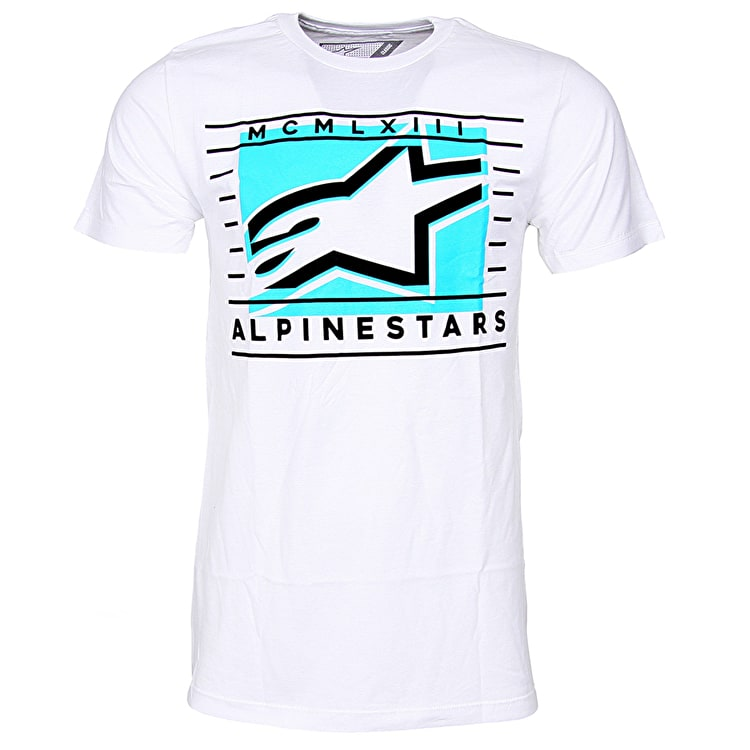 Alpinestars Time T-Shirt - White
