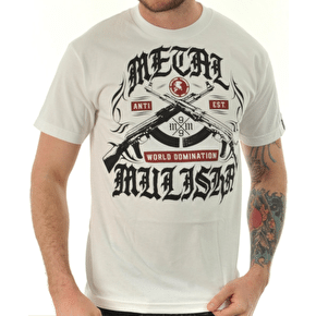 Metal Mulisha Heat T-Shirt - White