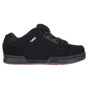 DVS Celsius Skate Shoes - Black/Gum/White Nubuck