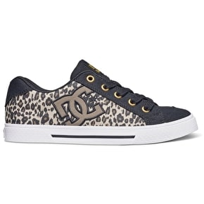 DC Chelsea TX SP Womens Shoes - Leopard Print