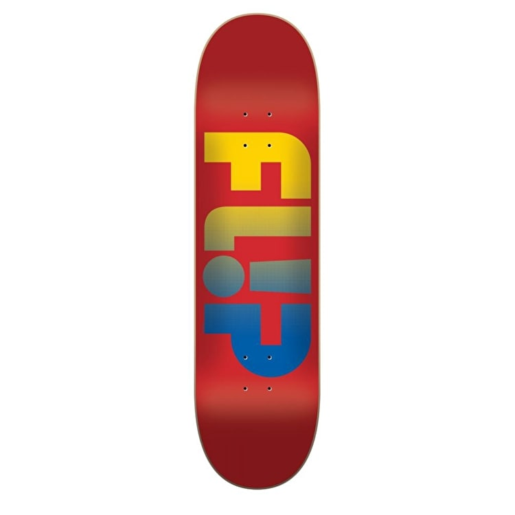 Flip Odyssey Faded Skateboard Deck - Red 8.5""