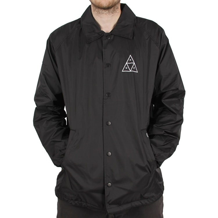 TT Coaches Essentials Clothing Jacket Huf Huf Black Huf g8q5wa