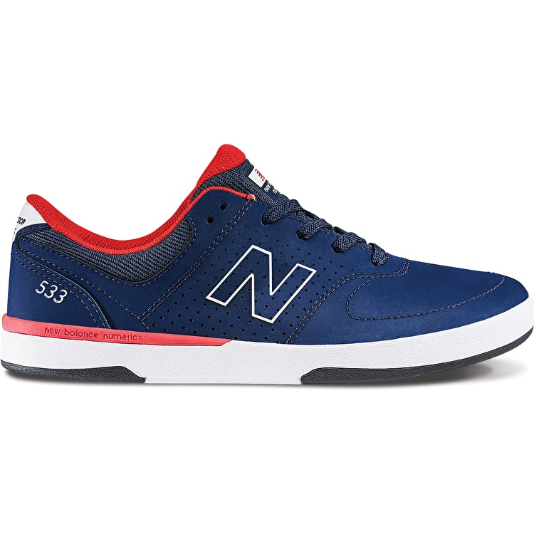 New Balance PJ Stratford 533 Skate Shoes - Aviator Blue
