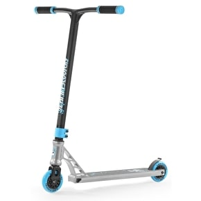 B-Stock Slamm Urban V Stunt Scooter - Silver/Blue (Box Damage, Scuffed)