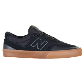 B-Stock New Balance Arto 358 Skate Shoes - Black/Gum UK 8 (Box Damage)