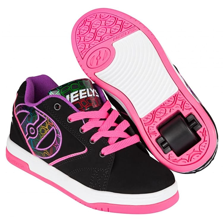 Heelys Propel 2.0 - Black/Pink/Purple