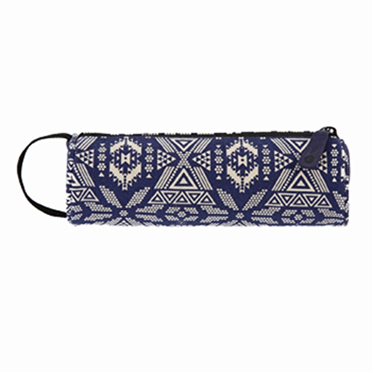 Mi-Pac Pencil Case - Alpine Blue/Cream