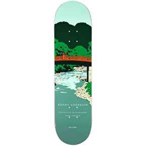 Chocolate Skateboard Deck - Park Service Anderson 8.125