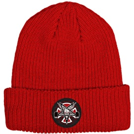 Independent x Thrasher Pentagram Cross Beanie - Lipstick