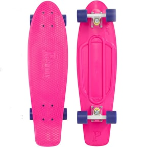 Penny Nickel Complete Skateboard - Pink / Purple 27