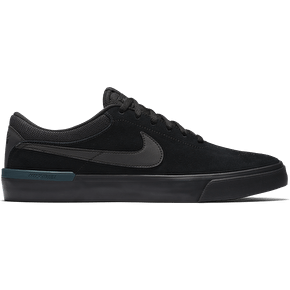 Nike SB Koston Hypervulc Skate Shoes - Black/Metallic Black