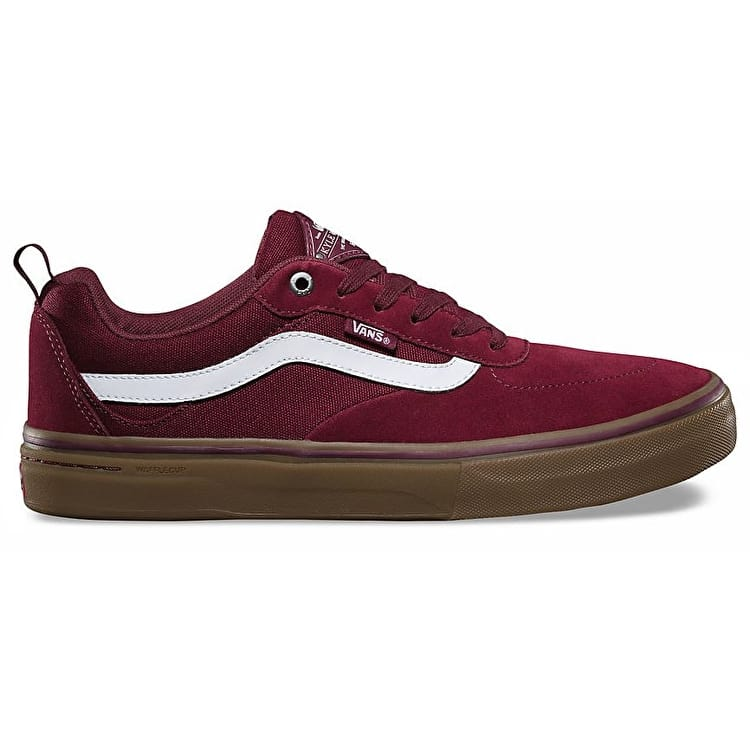 vans shoes red and white. new free delivery vans kyle walker pro skate shoes - burgundy/white/gum red and white i