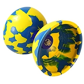 Juggle Dream Jester Diabolo Pro Pack w/DVD - Blue/Yellow
