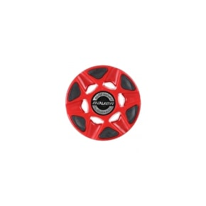 Bauer Silvver Roller Hockey Puck - Red