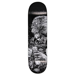 Zero Faces Of Death R7 Skateboard Deck - Cervantes 8.5