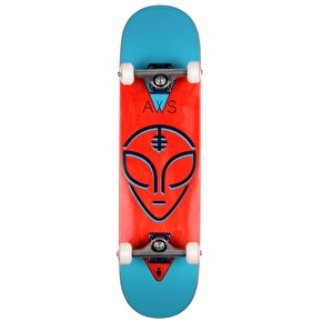 Alien Workshop Watcher Complete Skateboard - Blue/Red 8