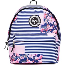 Hype Floral Stripe Backpack - Multi