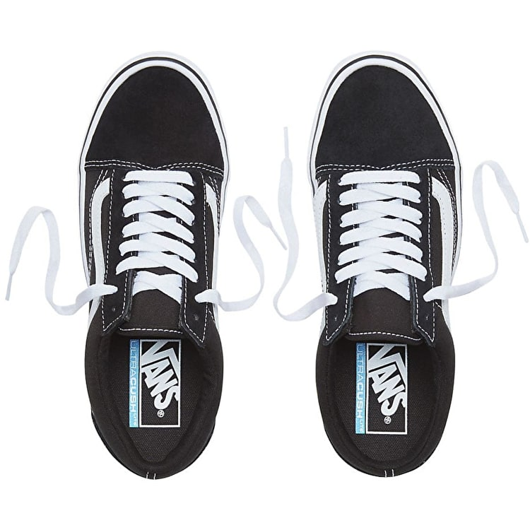 Vans UA Old Skool Lite Skate Shoes - Black/White