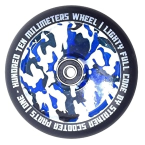 Striker Lighty Full Core Scooter Wheel - Blue Camo