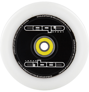 Eagle Hollow Tech Signature Core White PU Wheel - 100mm