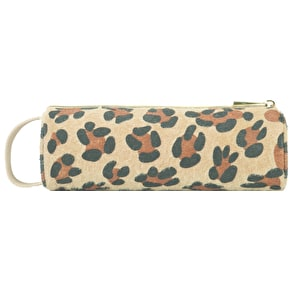 Mi-Pac Leopard Pony Pencil Case - Tan