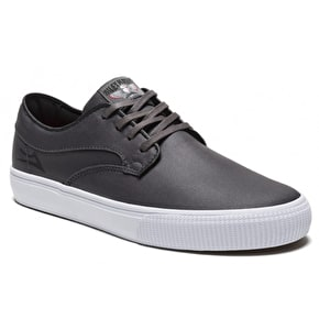 Lakai Riley Hawk Shoes - Gargoyle Coated Canvas