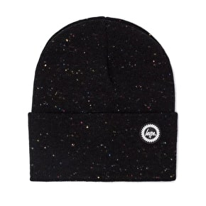 Hype Speckle Dot Beanie - Black/Multi