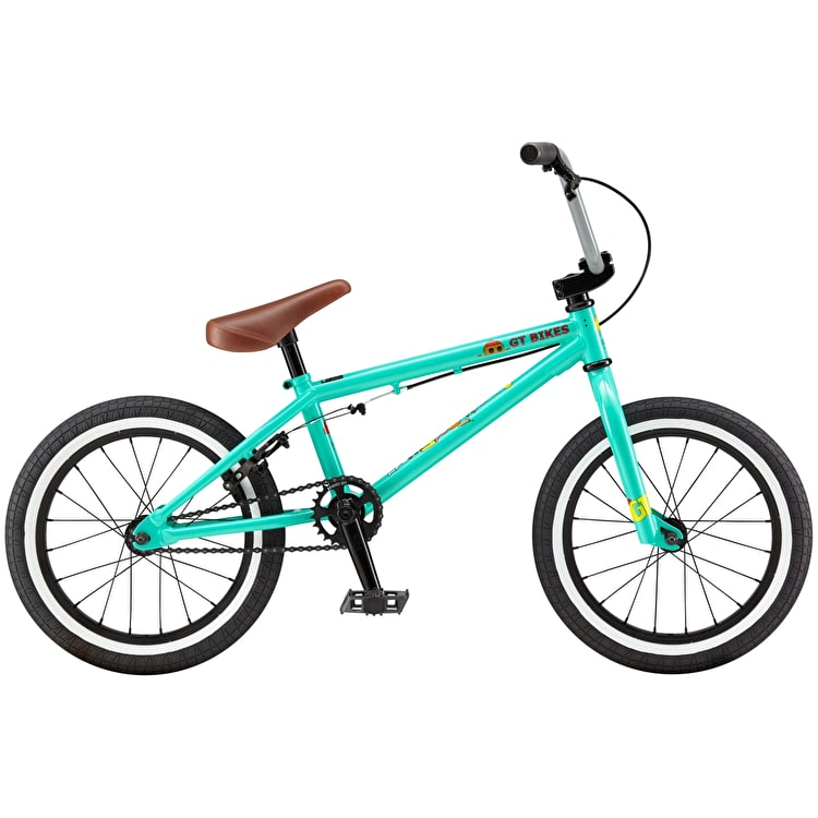 "GT 16"" Performer Lil 2019 Complete BMX Bike - Pitch Green"