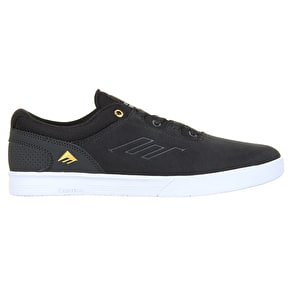 Emerica Westgate CC Skate Shoes - Dark Grey/White