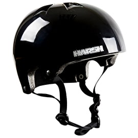 Harsh Pro EPS Helmet - Gloss Black
