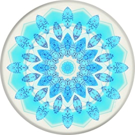 PopSockets Grip - Blue Ice Star