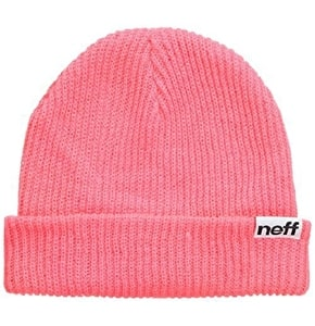 Neff Fold Beanie - Light Pink