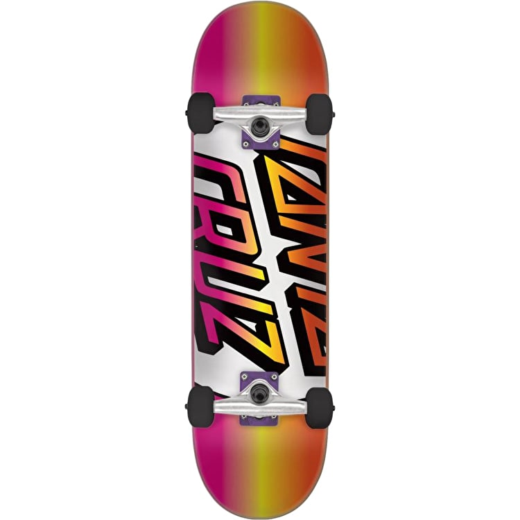 Santa Cruz Missing Dot Mini Complete Skateboard - Multi 7.25""
