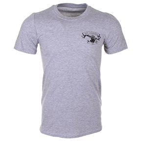 Crow T-Shirt - Skateboard Trucks - Light Grey