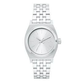 Nixon Medium Time Teller Womens Watch - All Silver